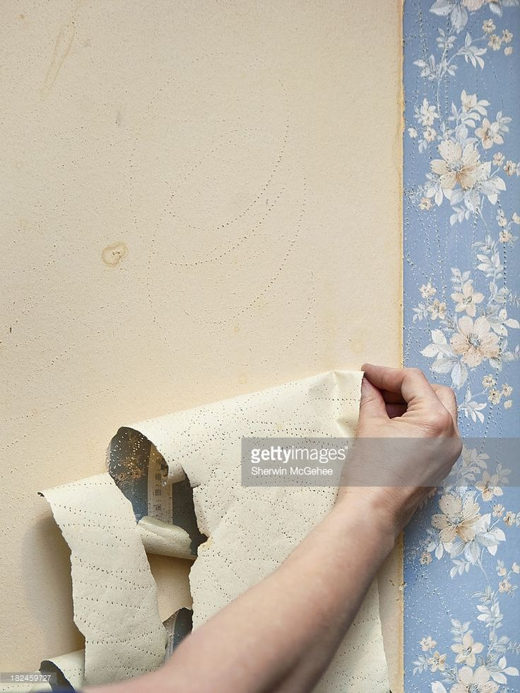 wallpaper removal tips fabric softener