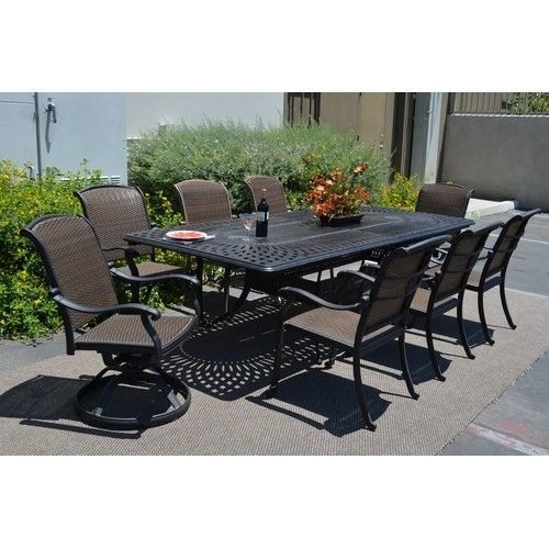 21 best outdoor dining table 9 pc images by Helaine Becker on