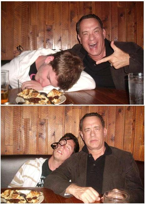 Tom Hanks - one reason I love this man so.