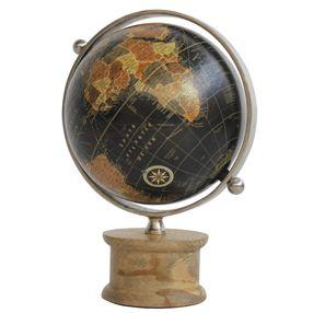 - EC Globe Wood Base