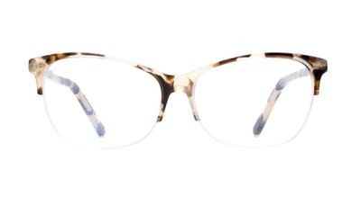 Flair Light Granite - Flair is the perfect eyewear for the one's that have a natural instinct for fashion. Versatile and trendy, these frames will fit every face shape with elegance.  *Semi-rimless frames can only be fitted to prescriptions with a sphere (SPH) value between -6.00 and +6.00, including the cylinder.