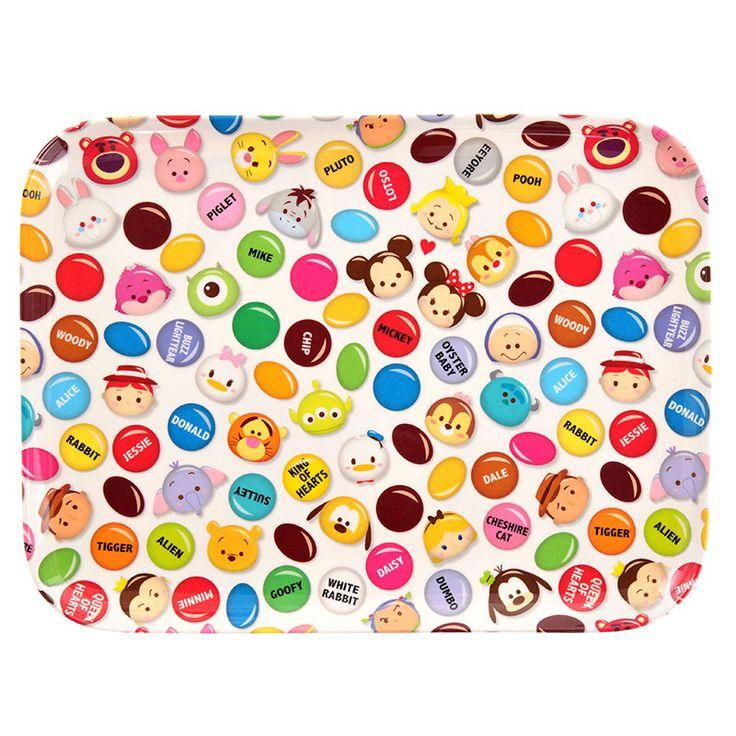 Disney Store Japan choco pop tsum tsum plate