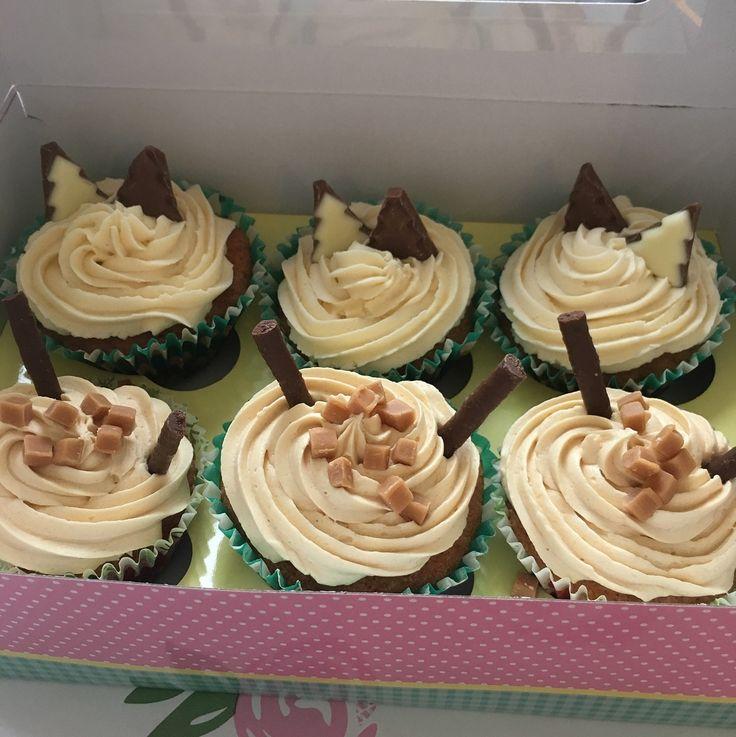 Baileys cupcakes and Salted caramel cupcakes