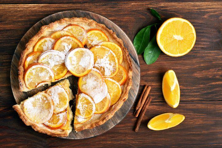 Crostata all'arancia, vitamina C sottoforma di dolce