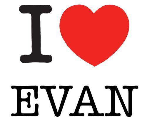I Heart Evan #love #heart