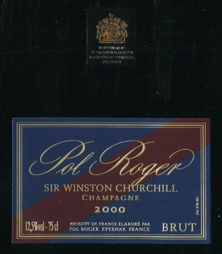 2000 Pol Roger Sir Winston Churchill Champagne 750 mL ** You can get more details by clicking on the image.