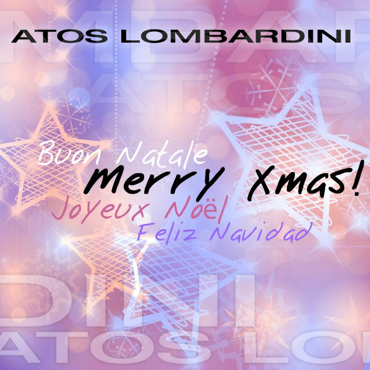 Merry Christmas 2013 from #AtosLombardini! _ #xmas2013 #greetings #holidays #Natale