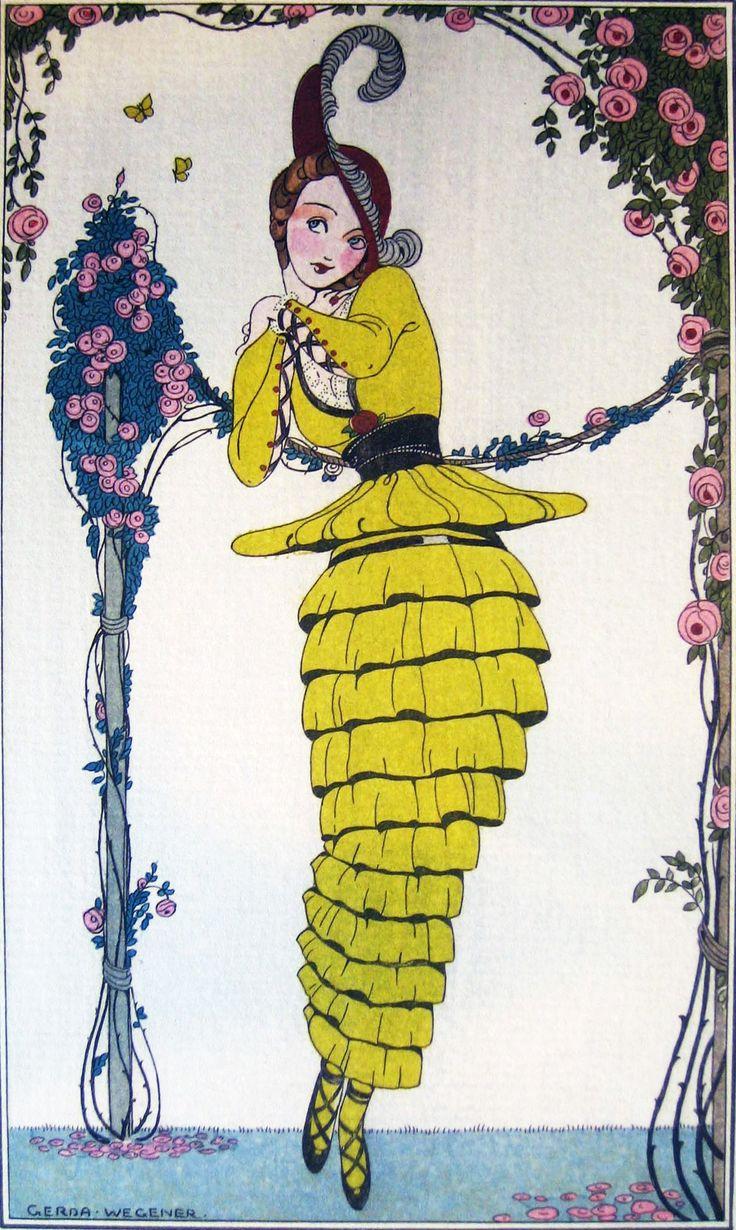 Gerda Wegener, 1914 (Paris, France) – Journal Des Dames et Des Modes