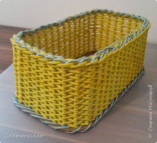 Мастер-класс Поделка изделие Плетение Японское плетение Бумага газетная Трубочки бумажные фото 1