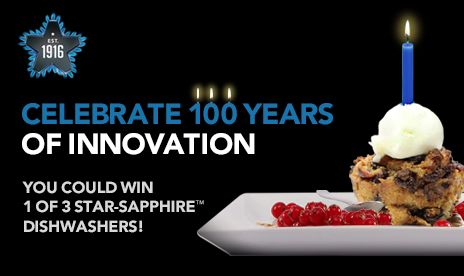 I just entered the Thermador 100 Years of Innovation Contest!
