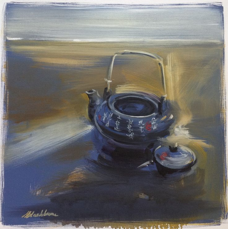 Memories, The Japanese Pot -  Oil on canvas *ON HOLD – PLATFORMstore