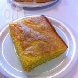 Pan de elote fácil @ allrecipes.com.mx con harina de hot cakes