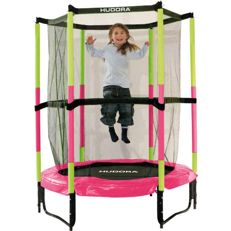 HUDORA Trampolin Jump In 140, pink 65609 | babymarkt.de