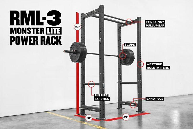 Best power rack images on pinterest exercise