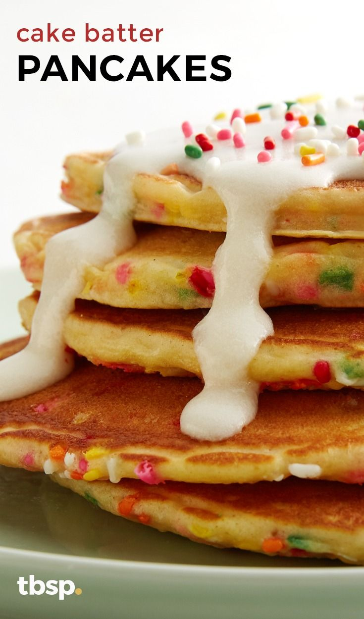 1000+ ideas about Cake Batter Pancakes on Pinterest ...