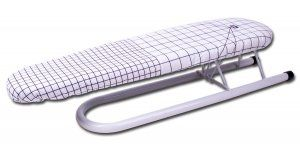 #Prym Sleeve Ironing Board. The Prym Ironing Board can be locked in place. With a steam permable cover that can be used on both sides, choice of either heat refl...
