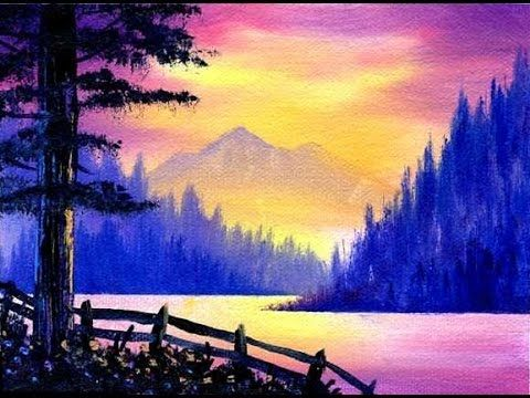 The 25 best scenery paintings ideas on pinterest for Best oil paints for beginners