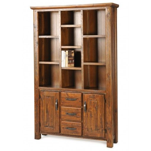 Farmhouse Divided Bookcase