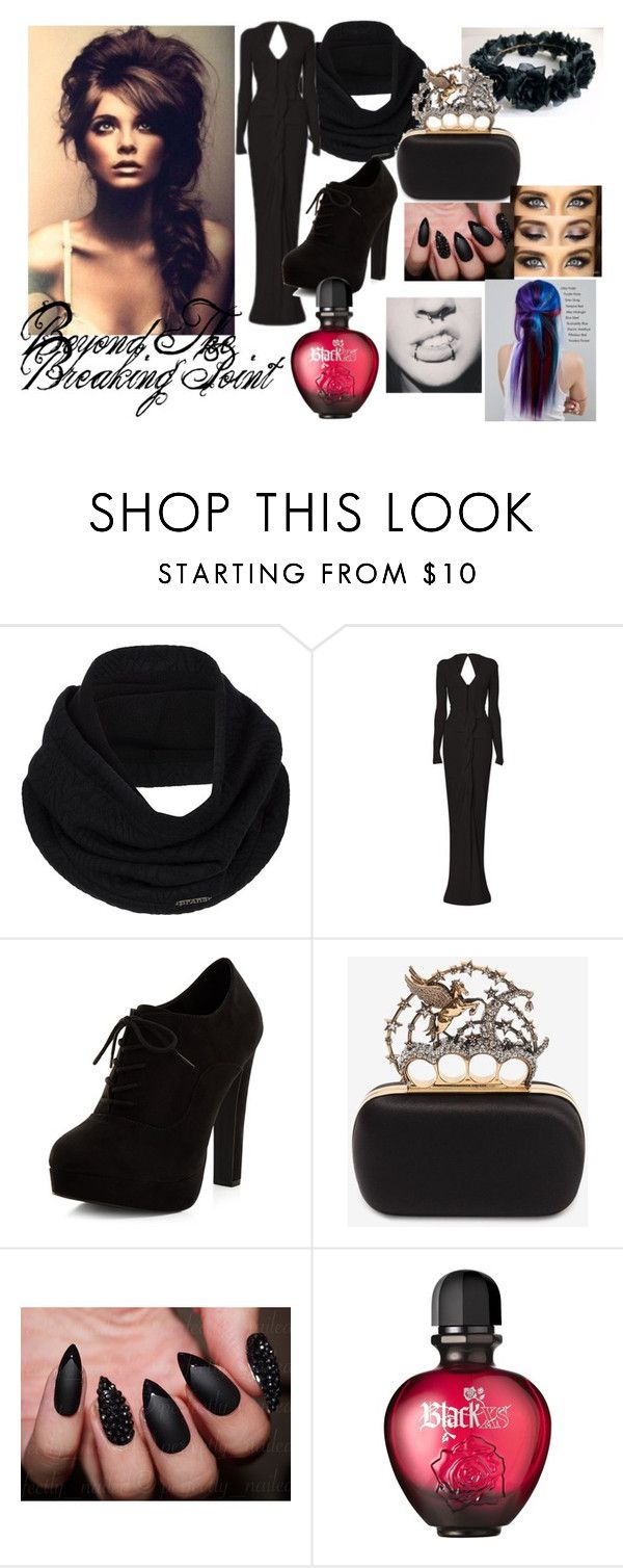 """""""Beyond The Breaking Point"""" by sabine-rainhart on Polyvore featuring prAna, New Look, Alexander McQueen, Paco Rabanne and Manic Panic NYC"""