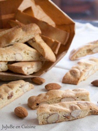 Croquants aux amandes (biscuits provençaux - sans beurre)