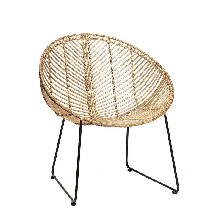 Fauteuil copacabana maison du monde best fauteuil de jardin en acacia massif et rsine tresse - Fauteuil osier maison du monde ...