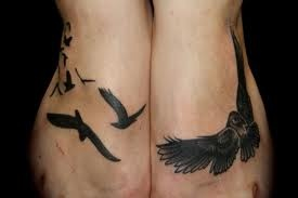 bird foot tattoo for women - Google Search