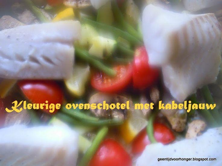 Ovenschotel met kabeljauw  Weight Watchers Recepten (met Propoints of Telvrij/Groen logo): Grote groep? Ovenschotel met kabeljauw