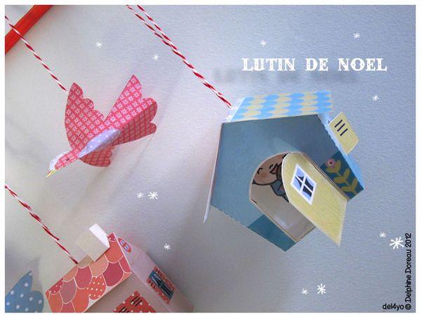 Le lapin dans la lune - Non dairy Diary - DIY Little cabinornament