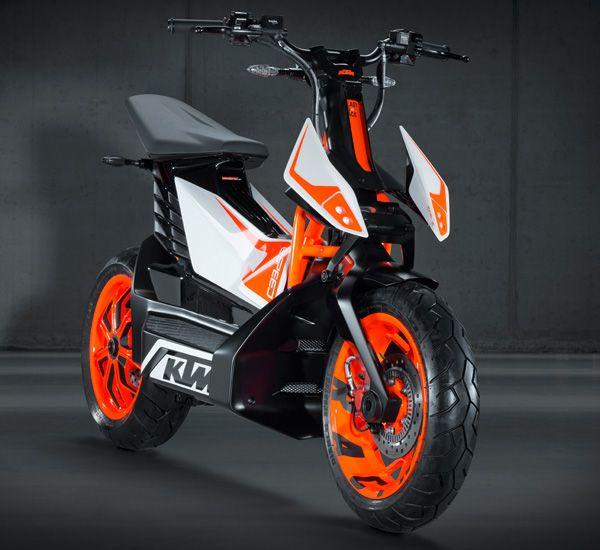 FREERIDE E-SPEED Electric Scooter Concept by KTM – KISKA » Yanko Design