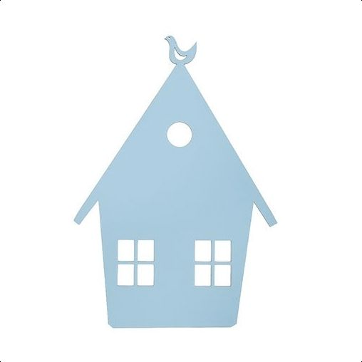 Ferm Living - House Lamp - Light Blue