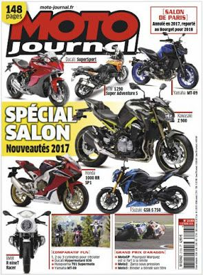 telecharger ebook gratuit francais pdf and epub: Telecharger Moto Journal N°2193 - 5 Octobre 2016