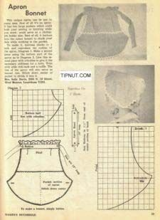 All kinds of free apron patterns, vintage, retro, kids, children, kitchen, and chef's apron sewing patterns. More Free Apron Patterns right here: http://goldmedal100.com/free-apron.htm