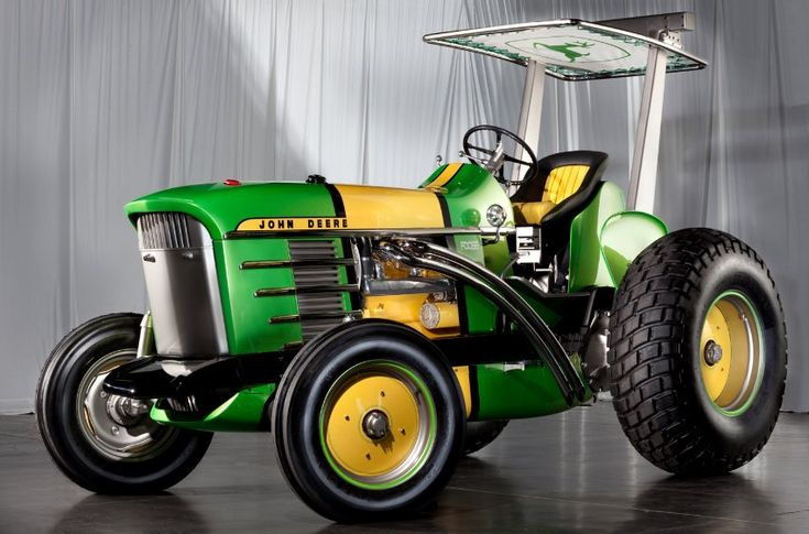 This John Deere tractor was won by a James River Equipment - STATESVILLE, NC customer in 2011.  We heard that Jay Leno offered $500,000 for it (rumor).  Pretty cool tractor!