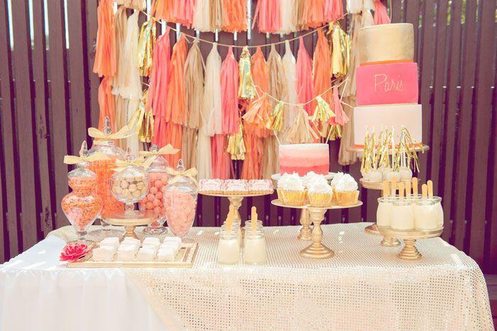 Swoon-worthy dessert table