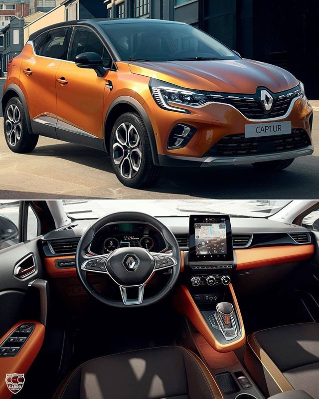 Renaultcaptur 2020 Marca Francesa Groupe Renault Revelou Nesta Quarta Na Europa A Nova Geracao Do Suv Compacto O Captur 2020 Bike Engine Car Interior Bmw