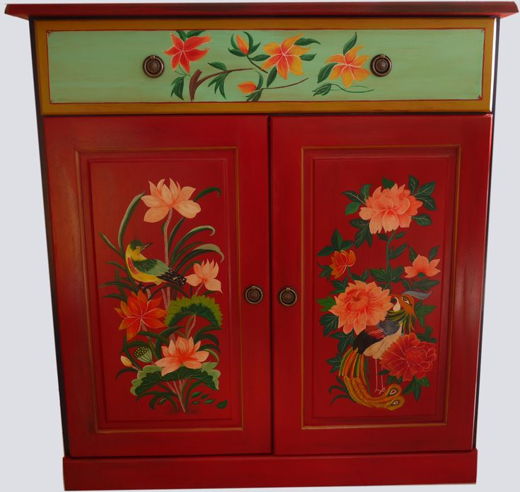 132 best meubles peints images on pinterest painted for Deco meuble furniture richibucto