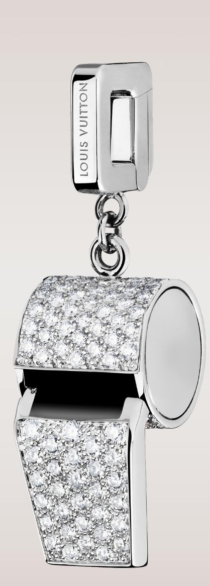 Louis Vuitton Whistle Charm♥✤   Keep Smiling   BeStayBeautiful