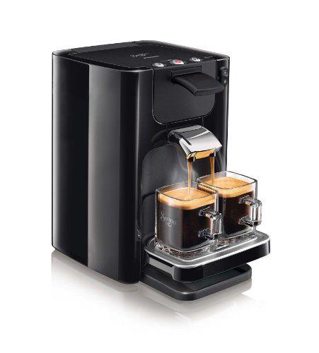 Philips HD7866/61 SENSEO Quadrante Machine à dosette Noir - https://www.cafetiere.ovh/773/  Voir sur Amazon  EUR 69,99  Type de produit : Autonome. Type de produit : Cafetière à dosette. Couleur : Noir. Nombre de becs : 2. Écran integré : Non. Réservoir de café : Tasse. Capacité du réservoir d'eau : 1,2 L. Capacité en tasses : 8 tasses. Type d'entrée à café : Dosette de...