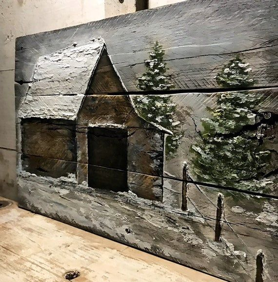 Pallet Wood Barn Art Wood Wall Art Rustic Country Wall Decor Reclaimed Wood Art Old Barn Farmhouse Decor Shabby Chic Barn Reclaimed Wood Art Wood Pallet Art Barn Art