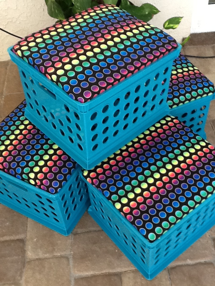 112 best images about milk crate recycler diy for Milk crate crafts