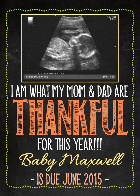 Best 25 Thanksgiving baby announcement ideas – Expecting Baby Announcement