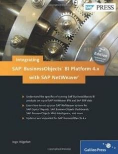 Integrating SAP BusinessObjects BI Platform 4.x with SAP NetWeaver free download by Ingo Hilgefort ISBN: 9781592293957 with BooksBob. Fast and free eBooks download.  The post Integrating SAP BusinessObjects BI Platform 4.x with SAP NetWeaver Free Download appeared first on Booksbob.com.