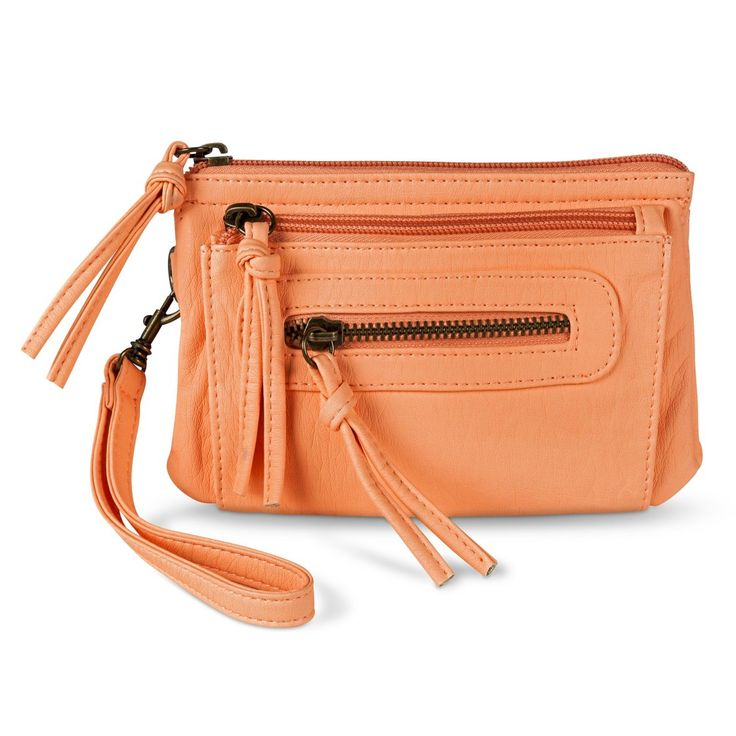 Leather Statement Clutch - Cross Reference Pastel by VIDA VIDA