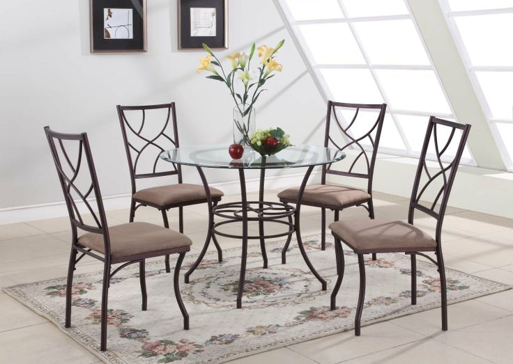 25 best Round Kitchen Table Sets images on Pinterest | Dining sets ...