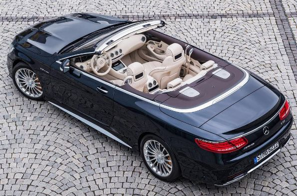 The Mercedes S-Class cabriolet: The first rag-top Mercedes S-Class since the 1965 W111 model. What do you think?