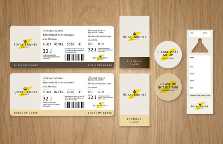 Royal Brunei Airlines Redesign