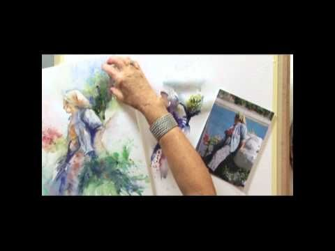 DVD - How To Paint Colour & Light in Watercolour with Jean Haines