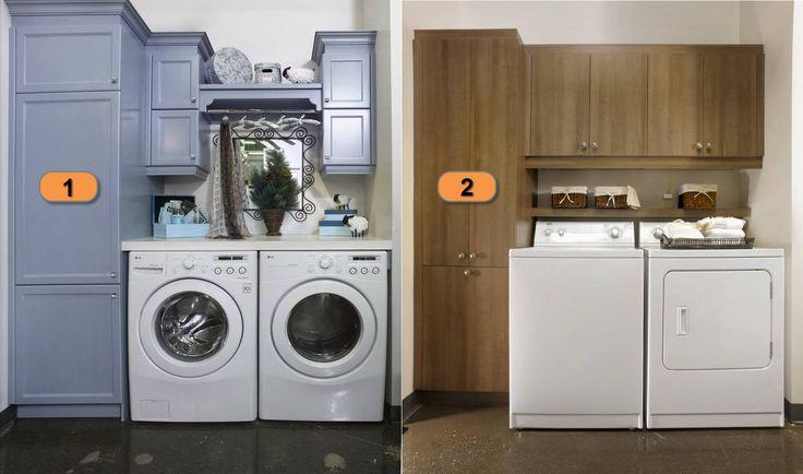 Parce qu'on ne fabrique pas seulement des cuisines...quelle salle de lavage vous préférez?