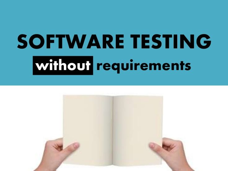 software-testing-without-requirements by Alexander Lutsaevsky via Slideshare