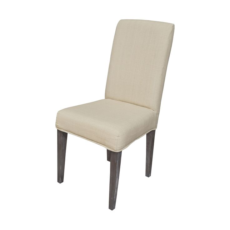 couture covers parsons chair cover light cream